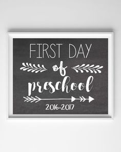 Ready or not, the firstday of school is fast approaching (doesn't it feel like summer just got started?!)! I created these printable chalkboard firstday of school signs so you can…
