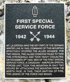 first special service force   First Special Service Force