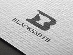 Photoshop Contest Entry for Blacksmith Logo Design Negative Space Logos, Stationary Branding, Logo Desing, Typo Logo, Logo Concept, Free Logo, Ioi, Vintage Labels, Visual Communication