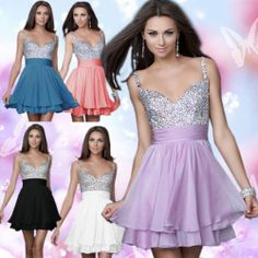 Sweatheart Short Mini Wedding Bridesmaid Formal Prom Gowns Ball Cocktail Dresses