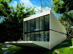 Fachadas de casas modernas pequeñas – Fachadas de Casas