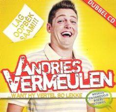 Andries Vermeulen - Want Hy Vertel So Lekke CD