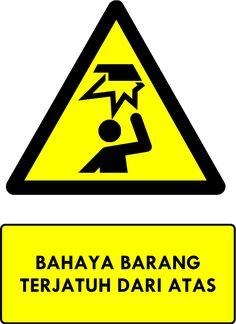Rambu K3 Kumpulan Rambu Bahaya K3 Safety Sign Sistem Manajemen