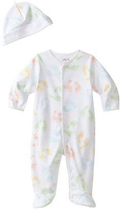 Amazon.com: Little Me Unisex-Baby Newborn Neutral Prints Footie: Clothing $11.95
