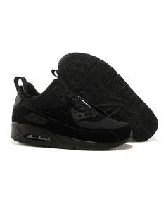 best cheap 89b98 a0e86 Homme Nike Air Max 90 Sneakerboot Noir Chaussures