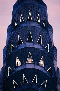 'Chrysler Tower At Dusk' by Nathan Benn.