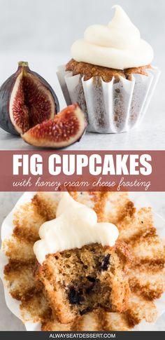 Fig Dessert, Fall Dessert Recipes, Fall Desserts, Sweets Recipes, Fig Recipes, Baking Recipes, Pancake Recipes, Crepe Recipes, Waffle Recipes