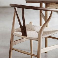 Shop of the Hans Wegner Wishbone Chair ( by Carl Hansen at Smart Furniture.