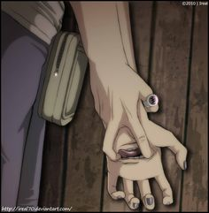 Wow dere who's on top of Deidara *needs to find out who's ring that is*