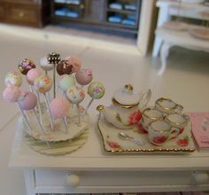 These miniature cake pops are actually easier to make than the real things. ;)
