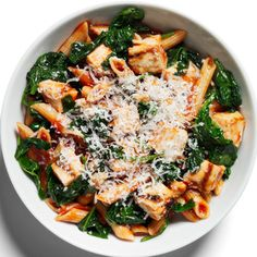 Chicken Parmigiana with Penne http://www.womenshealthmag.com/weight-loss/healthy-dinner-recipes?slide=27