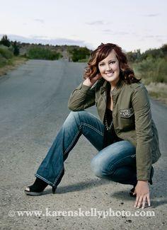 Danielle's Senior Portrait by Durango Photographer