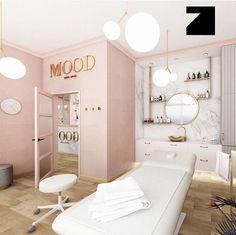 Beauty Bar Salon, Beauty Salon Design, Beauty Studio, Salon And Spa, Spa Studio, Beauty Salons, Spa Room Decor, Beauty Room Decor, Hair Salon Interior