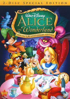 Animation Alice in Wonderland [Un-Anniversary Special Edition] Discs] [DVD] - Alice In Wonderland Characters, Alice In Wonderland 1951, Cartoon Wallpaper, Ed Wynn, Japanese Cartoon, 60th Anniversary, Unalome, Disney Movies, Disneyland Movies