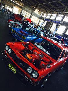 "akuma-zed: "" 510 Squad Taken by me "" Datsun 1600, Datsun Car, Datsun Bluebird 510, Nissan Hardbody, Robot Painting, Car Ports, Import Cars, Retro Cars, Blue Bird"