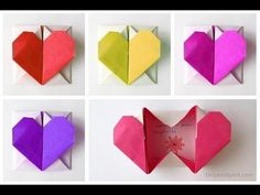 Make an Origami Heart and Keep Romance Alive Learn how to make an easy origami heart which can be opened into a box. Video instructions to make an origami heart created by Francis Ow. Visit the blog post for more ideas: http://www.origamispirit.com/?p=6858 How to make an origami heart-box. .................. Video con instrucciones paso a pas...