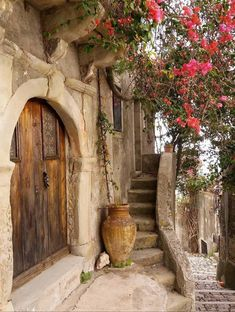 """la-sicilienne: """" Forza d'Agro, Sicily By """" Beautiful World, Beautiful Places, Beautiful Pictures, Old Doors, Windows And Doors, Stairways, Belle Photo, Paths, Places To Go"""