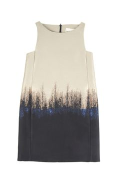 'Saga Trees Lupin Dress' (2013) by London-based Greek fashion designer Mary Katrantzou (b.1983). via moda operandi