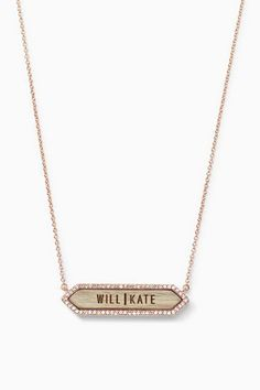 Signature Engravable Hexagon Necklace Natural Wood - engravable wood and pave perfection. Stella And Dot Jewelry, Other Accessories, Natural Wood, Gold Necklace, Jewels, Gifts, Bags, Style, Handbags