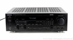 KENWOOD KR-V7040 Stereo Receiver Phono Turntable Ready 100 WPC Tested Excellent #KENWOOD