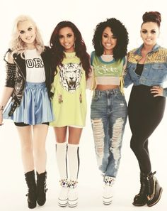 Little Mix! Perrie Edwards, Jade Thirlwall, Jesy Nelson & Leigh-Anne Pinnock! :)
