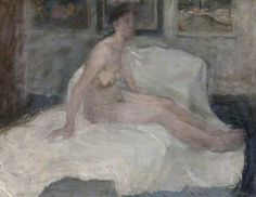 Life drawing- Elizabeth V. Blackadder paintings