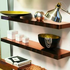 22 Amazing IKEA Shelf + Table Hacks to Try Immediately via Brit + Co.