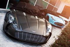 :: Aston Martin DBS | Taking off her pretty black slip ::