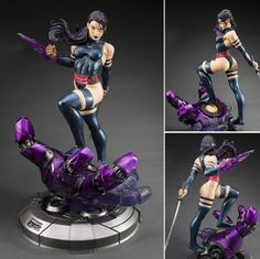 Psylocke : Danger Room Sessions Fine Art Statue