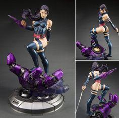 Psylocke : Danger Room Sessions Fine Art Statue