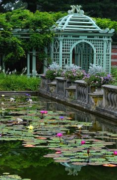 Old Westbury Gardens, Long Island, NY. photo: James Robertson.