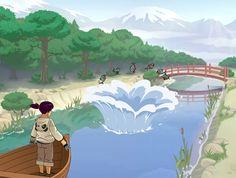 Ryoko Mini Games, Reign, Ninja, Video Game, Painting, Art, Art Background, Painting Art, Kunst