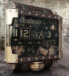 Devon Steampunk Tread 1 Watch