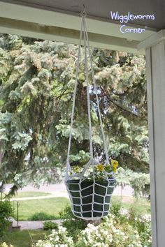 Hanging Plant Holder two