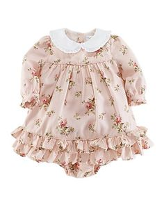 ec33786903d Ralph Lauren Childrenswear Infant Girls  Floral Dress - Sizes 3-9 Months  Kids - Baby - Newborn (0-9 months) - Bloomingdale s