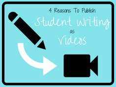 4 Reasons To Publish Student Writing As Videos  http://dailygenius.com/4-reasons-publish-student-writing-videos/ Great ideas from #ettsummit presenter Meghan Zigmond  #elemchat
