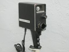 I actually own a camera similar to this one-left behind by my dad <3 vintage soviet video camera