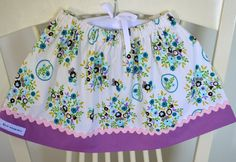 Baby/Toddler  Girls Skirt by BlueKangarooHandmade on Etsy