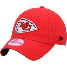 65786b23caa Women s Kansas City Chiefs New Era Red Preferred Pick 9TWENTY Adjustable  Hat