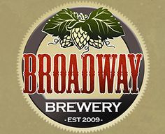 Local beer from Broadway Brewery!
