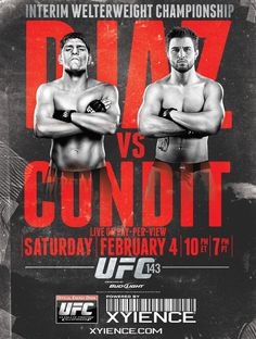 14 Best Ufc 210 Flyer Images Poster Boxing Calligraphy