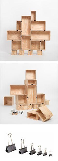 Easiest DIY Bookshelves EVER  클릭으로 만드는 선반장 DIY