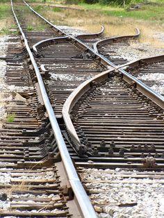 Spurs and points Old Steam Train, Train Room, Train Stations, Train Tracks, Model Trains, Locomotive, Bridges, Railroad Tracks, Abandoned