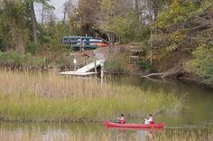 Can't wait to paddle again at York River State Park in Virginia