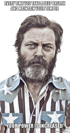 Nick Offerman Life Advice