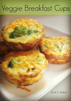 veggie breakfast cups