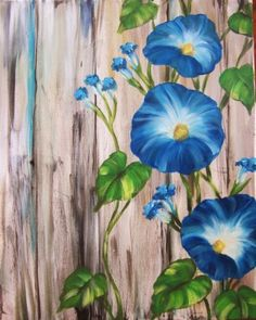 Join us for a Paint Nite event Fri Jun 2018 at 1516 Bedford Hwy Bedford, NS. Purchase your tickets online to reserve a fun night out! Garden Fence Art, Garden Mural, Easy Canvas Painting, Diy Painting, Canvas Art, Learn To Paint, Yard Art, Belle Photo, Watercolor Flowers