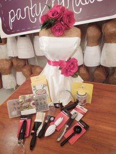 small kitchen gadgets can be included as bridal shower guest favors in addition to panties for the bride create an unforgettable bridal shower with the