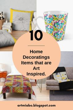 Art inspired home decorating accessories Decorative Accessories, Home Accessories, House Hacks, Decorating Ideas, Decor Ideas, Good House, Inspired Homes, Clean House, Home And Living