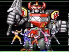 SNES - Mighty Morphin Power Ranger - Fase 6